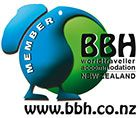 BBH World Traveller Accommodation NZ